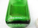 Prescription Bottle Vintage Green Duraglas Prescription Bottle  1950's