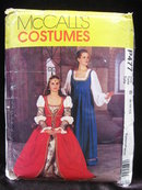 New McCall's P477 477  Misses' Italian Renaissance Medieval Juliet Halloween Costume Sewing Pattern