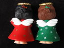 Vintage Hallmark  Season Greetings  Barefoot Christmas Angels Salt & Pepper Shakers