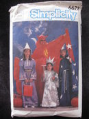 Vintage Simplicity 6672 Adults Devil Wizard Statue Of Liberty  Witch    Halloween  Costume Sewing Pattern