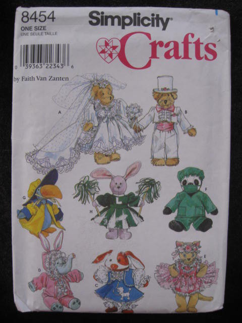 Simplicity 8454 Halloween Costume Clothes For 8 - 9