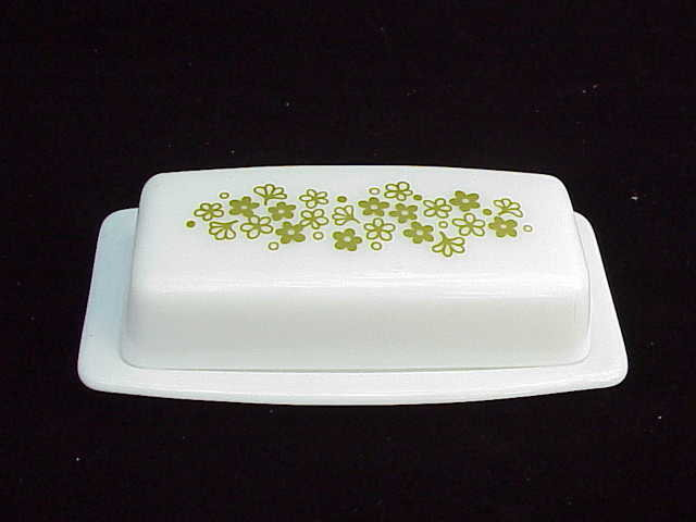Pyrex Crazy Daisy ~ Spring Blossom Covered Butter Dish
