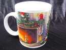 Starbucks Exclusive Fireplace  Christmas Eve  Mug