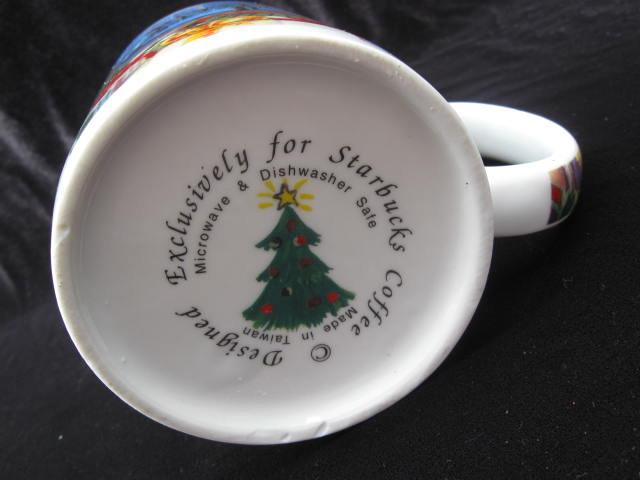 Starbucks Exclusive Fireplace  Christmas Eve  Mug