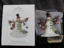 Hallmark 2010 Branching Out In Style 1st In Series Club Exclusive Christmas Tree Ornament