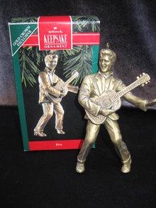 Hallmark 1992 Elvis Presley Christmas Tree Ornament
