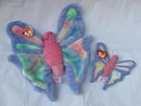 Ty Flitter The Butterfly Beanie Buddy +  Teenie Beanie