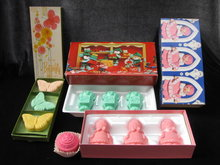10 Bars Of Vintage Avon Cupcake Christmas Elves Butterflies & Choir Boys Soap