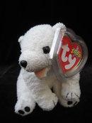 Ty  Aurora The Polar Bear Retired Beanie Baby