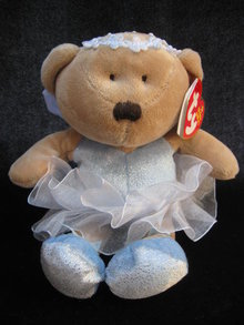Ty Fairydust  Fairy Dust The Fairy Bear Retired Beanie  Baby