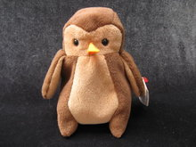 Ty  Hoot The Owl    Retired  Beanie Baby