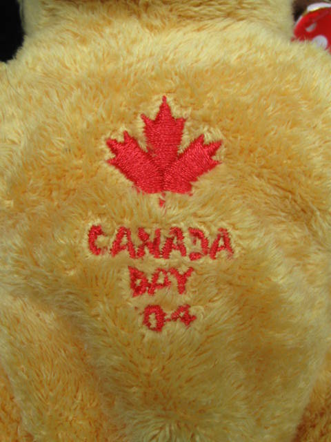 Ty  Dominion The Canada Moose   Ty Store Exclusive   Retired  Beanie Baby