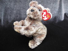 Ty  Cutesy The Pup Puppy Dog    Retired  Beanie Baby