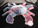 Ty Claude The Crab Retired Beanie Buddy