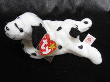 Ty  Dotty The Dalmatian Dog  Retired   Retired  Beanie Baby