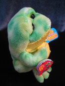 Ty  Jumps The Yellow & Green Frog   Beanie Baby