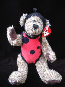 Ty Bugsy The Lady Bug Attic Treasure