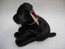Ty Luke The Black Lab Pup Puppy Dog Retired   Beanie Baby
