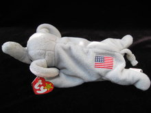 Ty Original Righty The Republican  Elephant Retired Beanie Baby