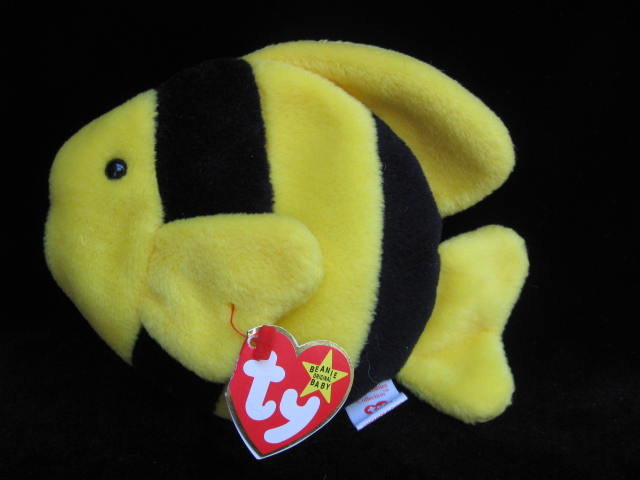 Ty  Bubbles The Tropical Fish Retired Beanie Baby