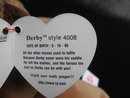 Ty  Derby Horse  Yarn Mane &  Star Retired  Beanie Baby