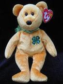 Ty  4-H   4 H  Bear  Beanie Baby