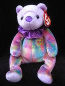 Ty February   Birthday Bear Beanie Baby