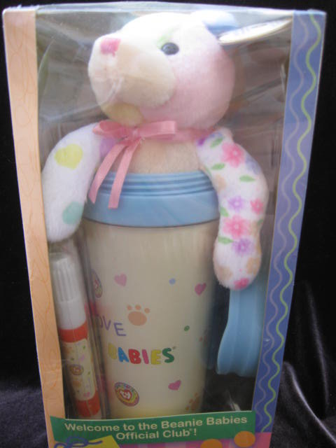 Ty Beanie Babies Official Club Kit & Travel Mug & Bits Beanie