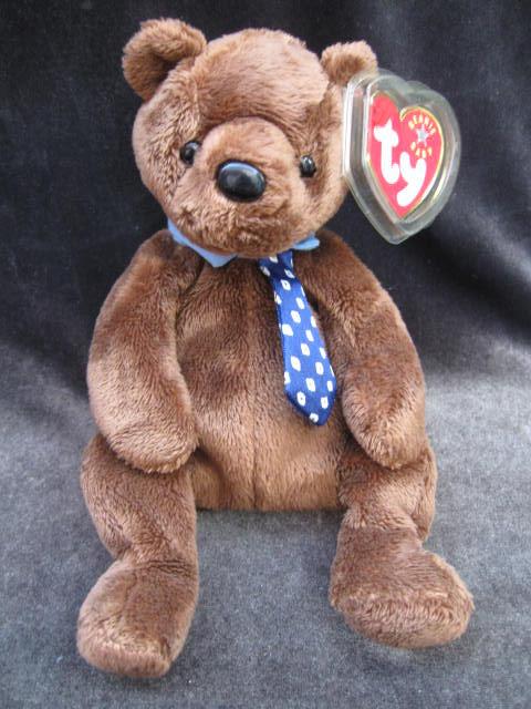 Ty Hero The Dad Bear Beanie Baby