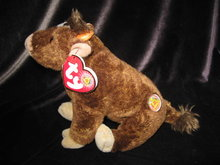 Ty Jersey The Cow BOM Beanie Of The Month   Beanie Baby