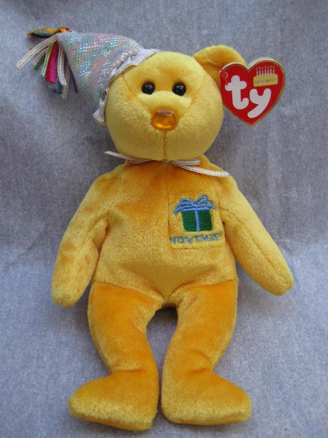 Ty November Birthday Bear Beanie Baby