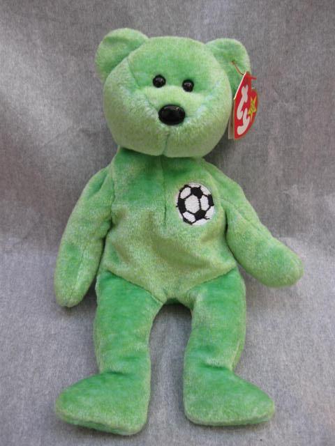 Ty Kicks The Soccer Player Bear Beanie Baby