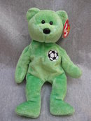 Ty Kicks The Soccer Player Bear Beanie Baby