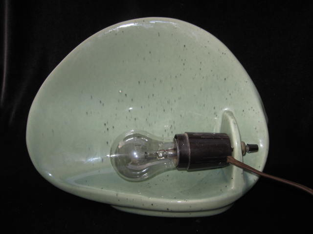 Atomic Vintage TV or Television Lamp
