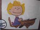 New Vintage Peanuts Sally Teacher's Pet Crewel Stitchery Kit
