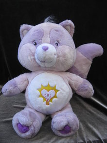 Large Care Bear Cousin Bright Heart  Raccoon  21