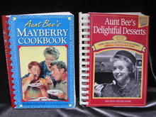 2 Cook Books Aunt Bee's Mayberry Cookbook & Aunt Bee's Delightful Desserts