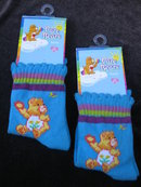 3 Pairs of Child's Friend   Care Bears Socks  Stockings  Size 18 - 24 Months