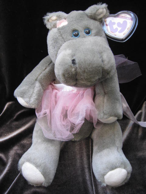 Ty Hippo Grace The Jointed Ballerina Hippopotamus Attic Treasure