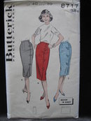 New Vintage Butterick 8717 Misses' Quick 'N  Easy Wrap Around     Skirt   Sewing Pattern
