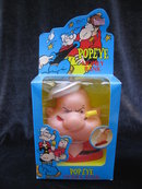 New Vintage Popeye The Sailor Man Penny or Money Bank  1980's