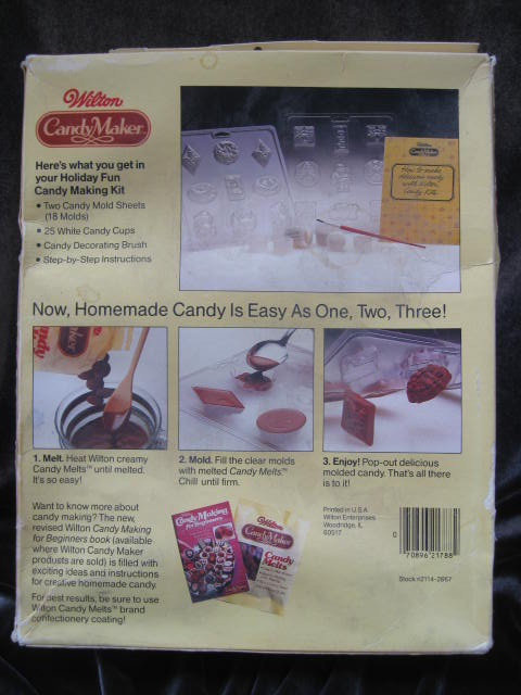 Wilton Christmas Holiday Fun Candy Kit With Molds