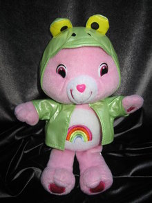 Cheer Bear Frog Raincoat Care Bear  10