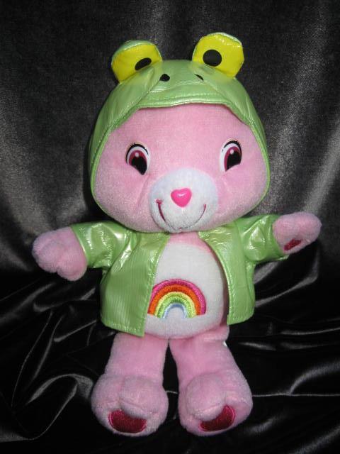 Cheer Bear Frog Raincoat Care Bear  10