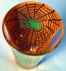 Lolita Halloween Green Spider  Shot Glass