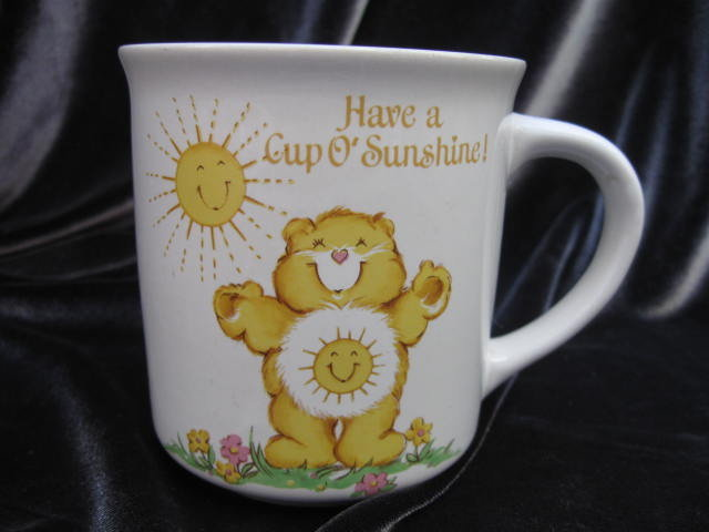 Vintage 1978 Funshine Care Bear Mug
