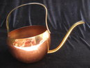 Copper Watering Can  With Brass Spout & Handle
