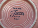 2 Homer Laughlin Fiesta Pink Cups & Saucers