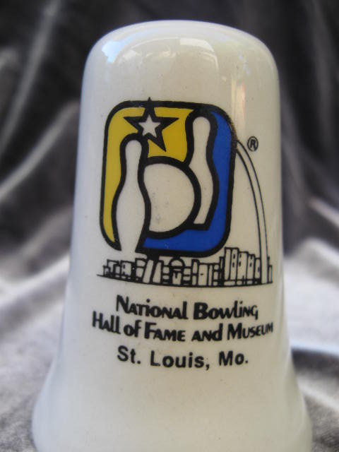 National Bowling Hall of fame and Museum Salt  & Pepper Shakers