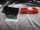 Hot Dogs Drive In & Roadster Convertible Five & Dime Salt & Pepper Shakers